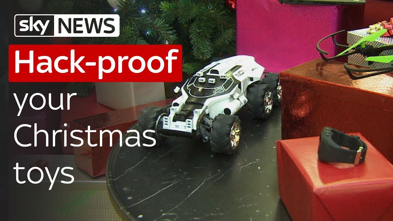 Swipe | How to hack-proof your toys for Christmas