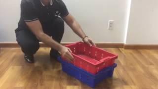 пластиковые ящики для овощей и продуктов штабелируемые и вкладываемые(пластиковые ящики для овощей и продуктов штабелируемые и вкладываемые., 2017-01-08T13:22:09.000Z)
