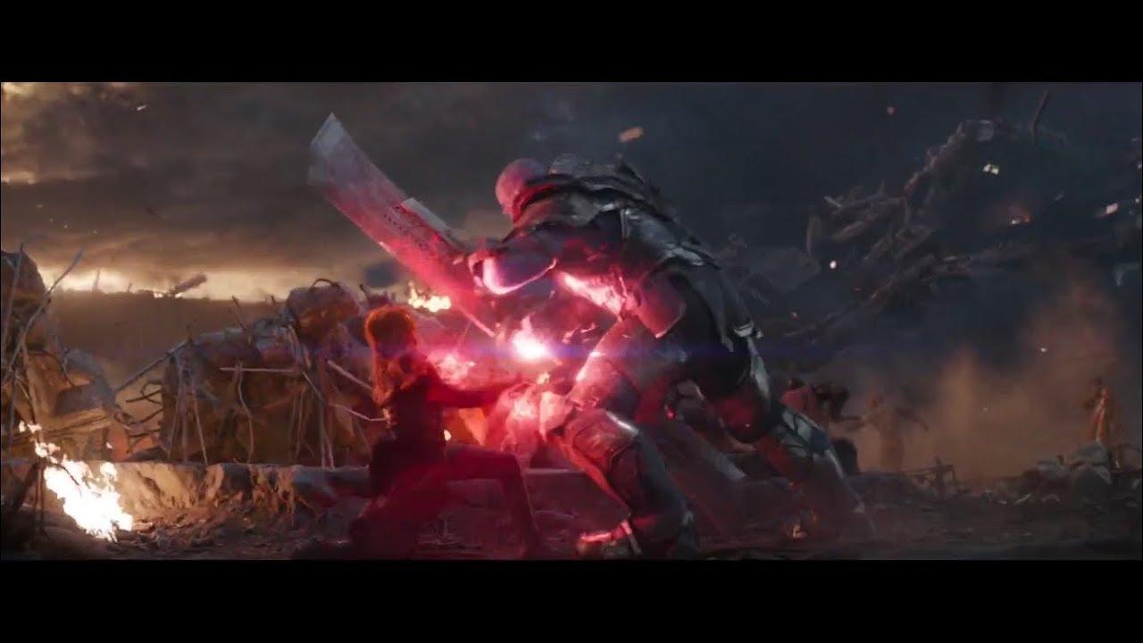 Scarlet Witch vs Thanos (Avengers: Endgame) - YouTube