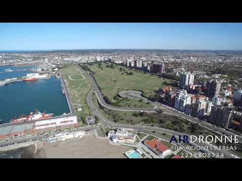 Vuelo por la costa de Mar Del Plata