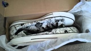Gorillaz Converse Shoe Unboxing