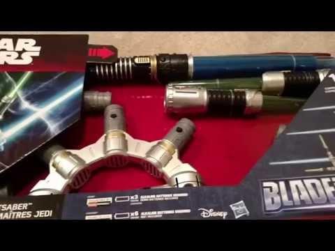 Star Wars Bladebuilders: Jedi Master Lightsaber Unboxing
