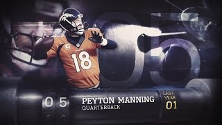 #5 Peyton Manning (QB, Broncos) | Top 100 Players of 2015