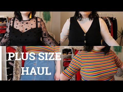 Huge Plus Size Haul | NEW LOOK, ASOS, MONKI