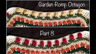 Crochet Garden Romp Octagon Part 8