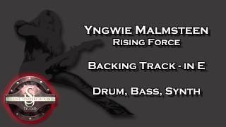 Yngwie Malmsteen - Rising Force - Backing Track in E