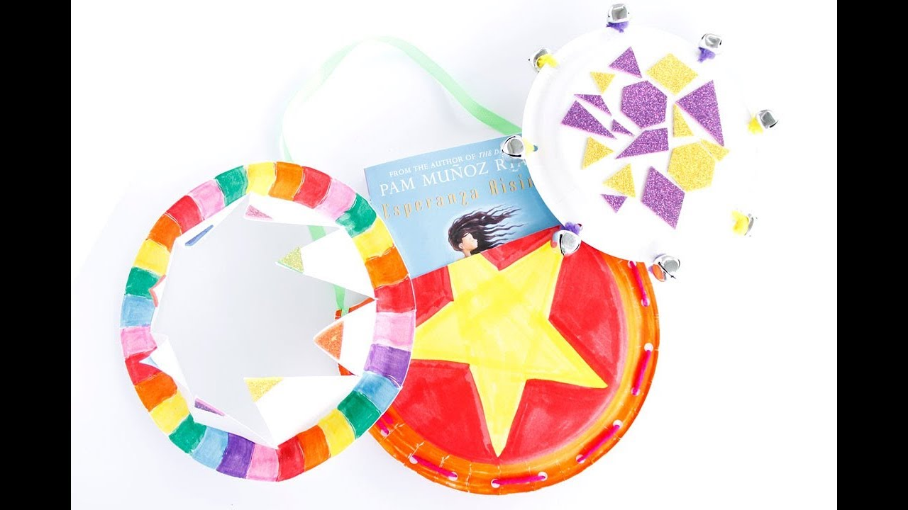 3 Easy Paper Plate Crafts For Kids Youtube