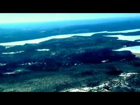 Quabbin Reservoir Aerial