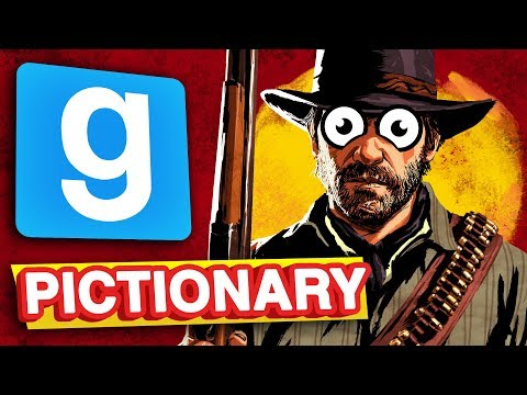 RED DEAD 2 IN GMOD | Pictionary