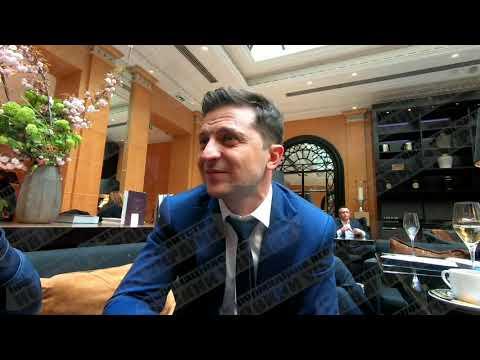 Зеленский дал интервью