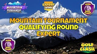 Golf Clash, RECORDING, Mountain Tournament, Qualifying round Expert