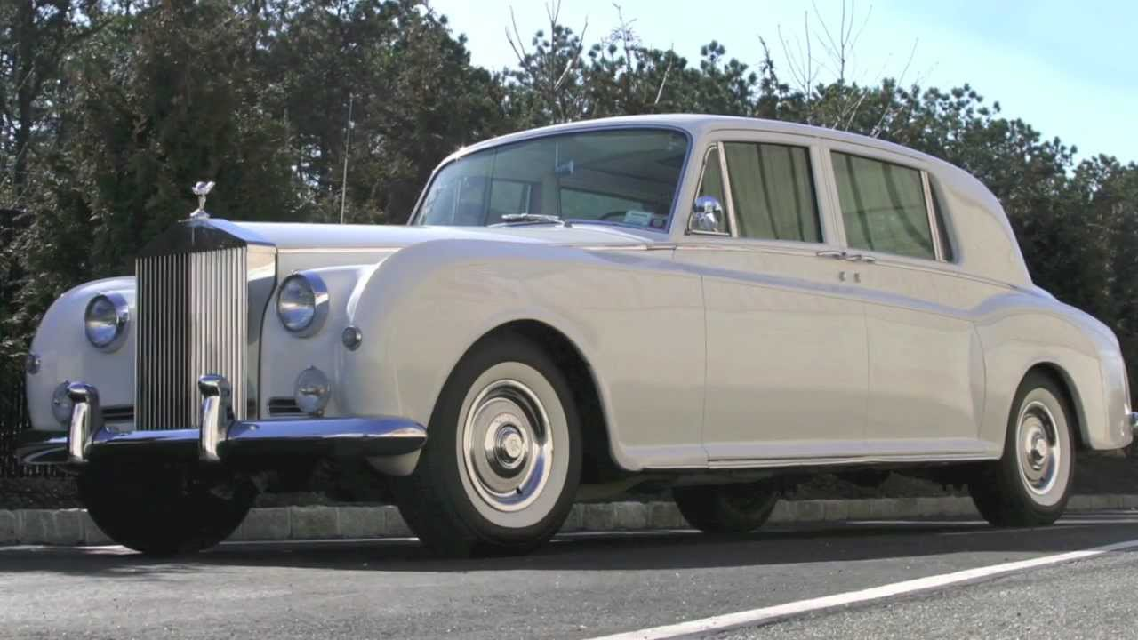1962 Vintage Rolls Royce Phantom V Limo By All Star Limousine Youtube