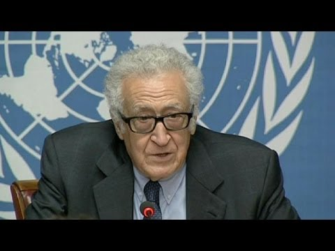 Syria talks end with insults but UN mediator claims 'some common ground'