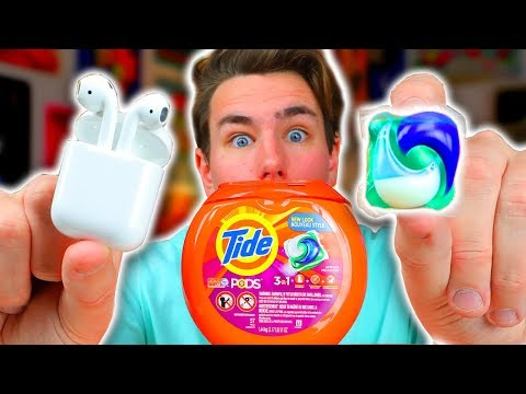 Download Youtube: Tide Pods vs Apple AirPods - DO NOT BUY!