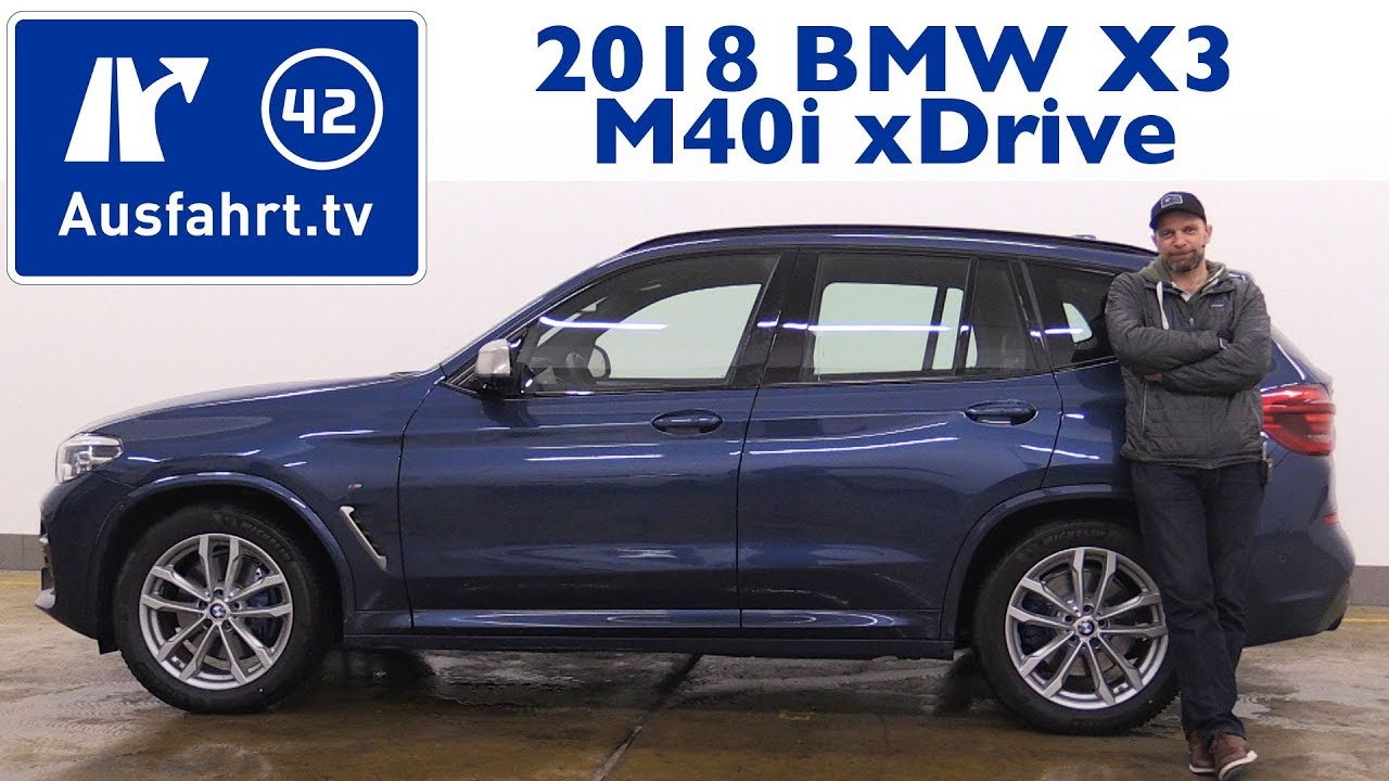 2018 bmw x3 m40i g01 kaufberatung test review youtube. Black Bedroom Furniture Sets. Home Design Ideas