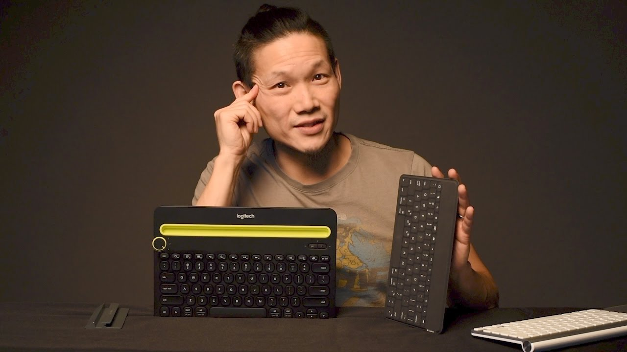 Logitech Bluetooth Keyboard Review: Keys-To-Go vs the K480