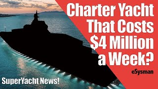 $4 Million SuperYacht Charter & Lamborghini Yacht!