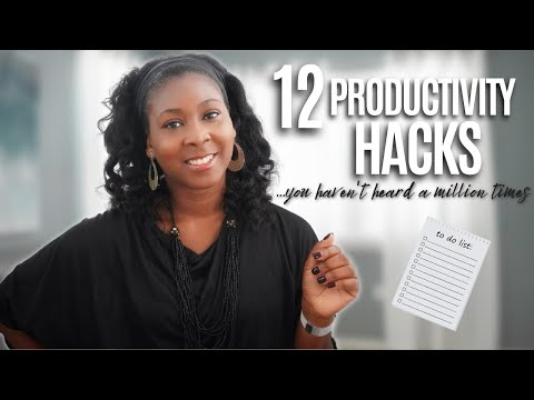 12 Productivity Hacks and Tips (you haven't heard a million times) | Productivity and Money