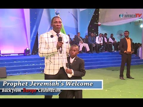 I Was Touched When I heard The Little Boy Sing | Prophet Jeremiah