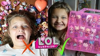 5 WAYS How To Store & Organize Your LOL SURPRISE DOLLS!