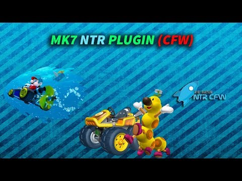 Mario Kart 7 Cheats NTR PLUGIN CFW
