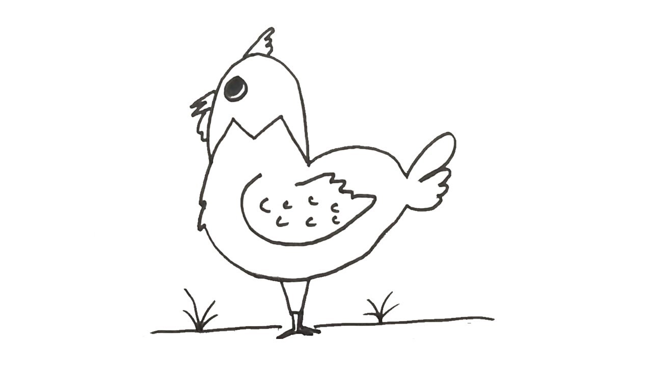 How to Draw Cock step by step |Easy drawing with letter M | Fun drawing with Alphabets