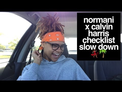"Normani X Calvin Harris - ""Checklist"" Ft. WizKid & ""Slow Down"" REACTION"