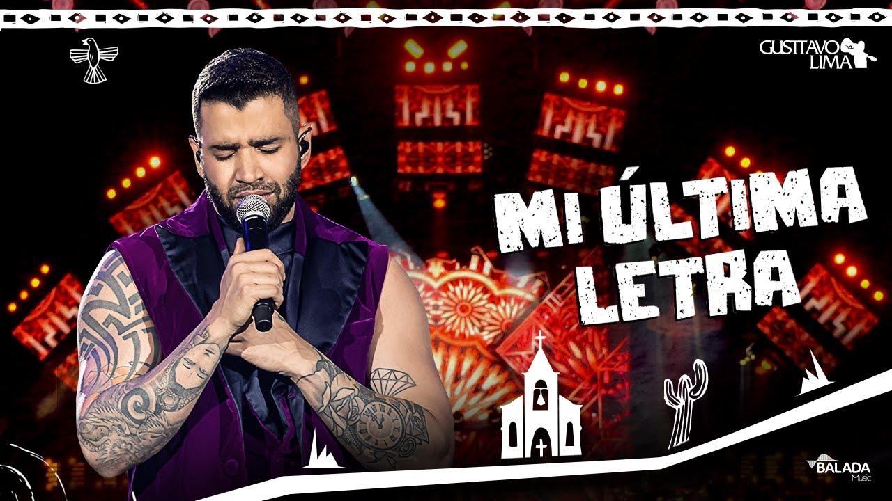 Gusttavo Lima — Mi Última Letra — DVD O Embaixador In Cariri (Ao Vivo)