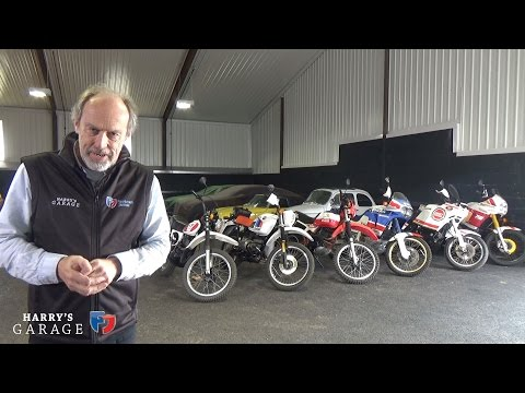 Dakar winning bike collection 1979-1998