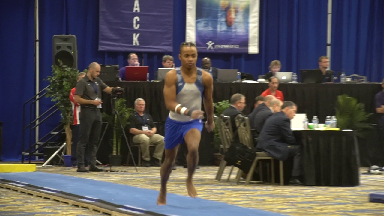 Russell Johnson - Vault - 2017 Winter Cup Prelims - YouTube