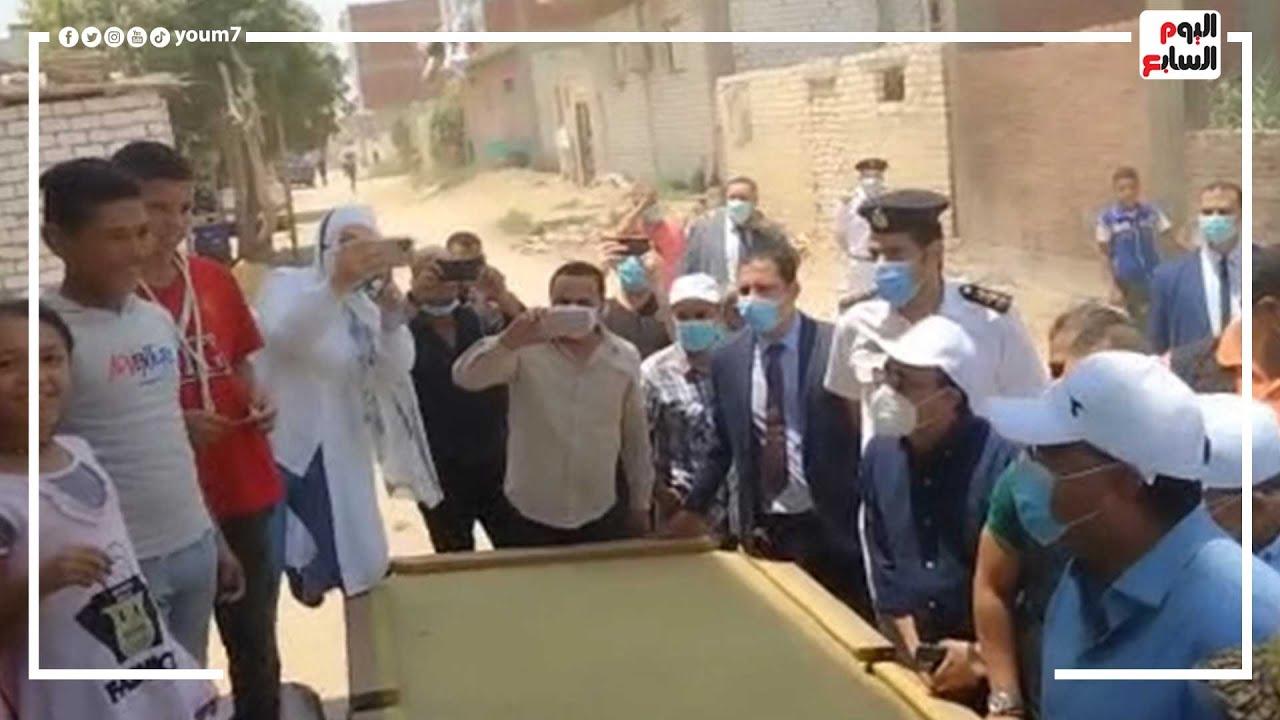 طفل بقرية الأبطال في الإسماعيلية لرئيس الوزراء: مستنيك أسلم عليك  - نشر قبل 24 ساعة
