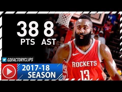 James Harden Full Highlights vs Grizzlies (2017.11.11) - 38 Pts, 8 Ast, MVP!
