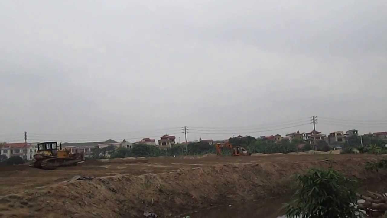 Khu đấu giá đất tại Tổ 16 Thạch Bàn quận Long Biên Hà Nội diện tích 6,8ha