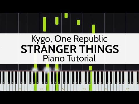 Stranger Things - Kygo, One Republic Piano Tutorial by Niko Kotoulas