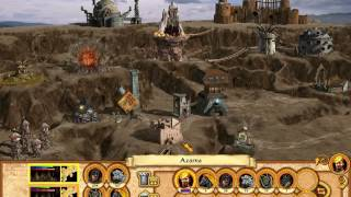 Heroes of Might and Magic IV : Winds of War Campaign - To Rule the World - Rusted Desert