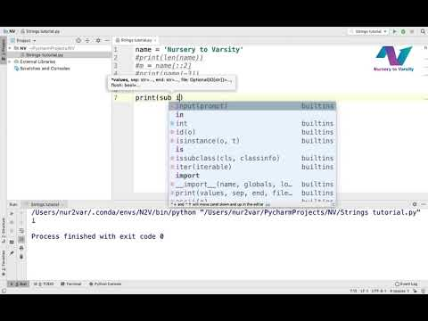 Strings and Characters in Python | Learn Python | Python Tutorials | Free Online Course thumbnail