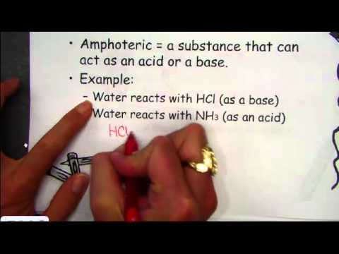 Bronsted-Lowry Theory of Acids and Bases