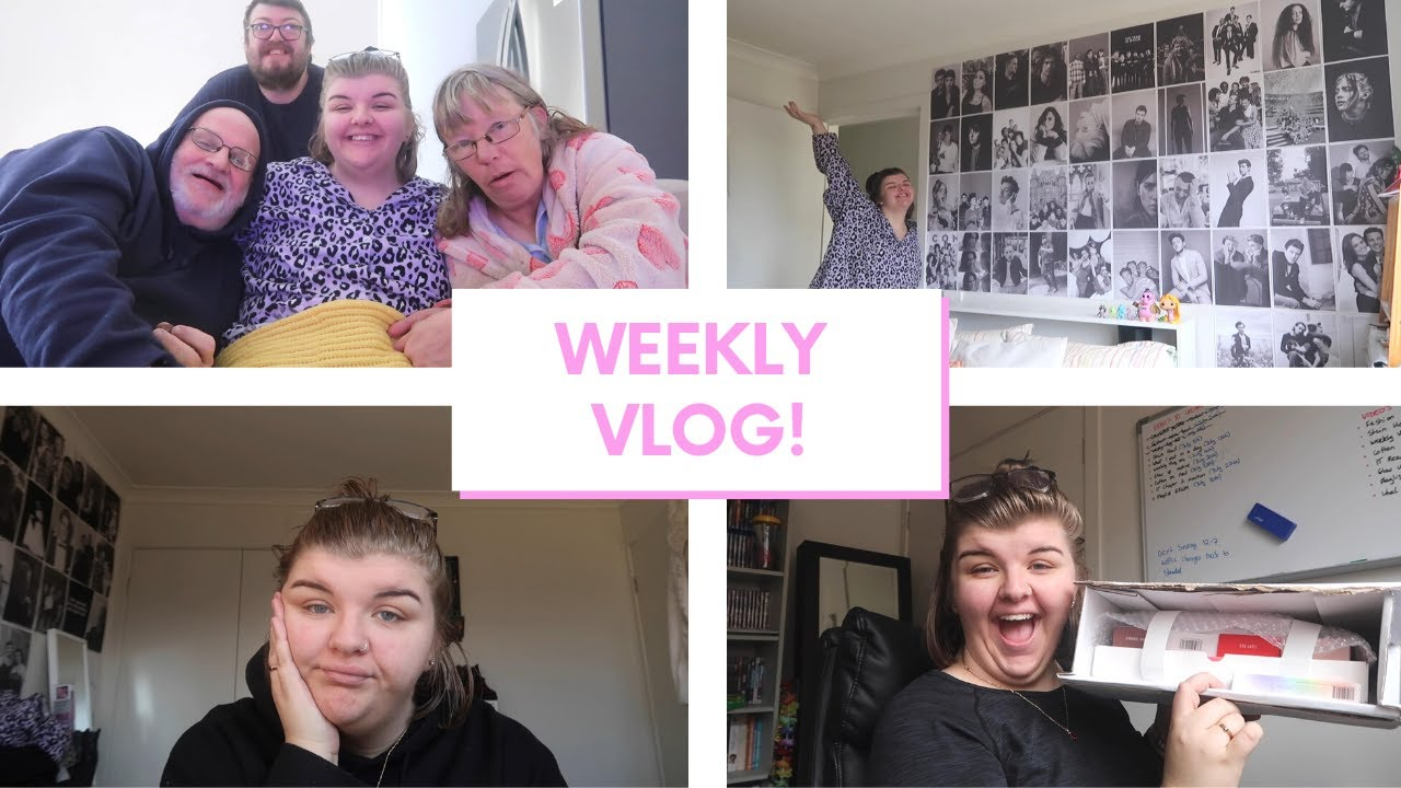 WEEKLY VLOG! | decorating my room, makeup haul, family time & feeling down! | Chloe Benson