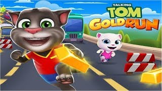 Talking Tom Gold Run Android Gameplay-Kidstv ToTo