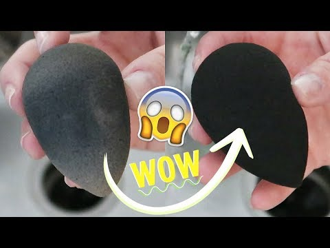 How to DEEP Clean your Makeup Sponges and Brushes