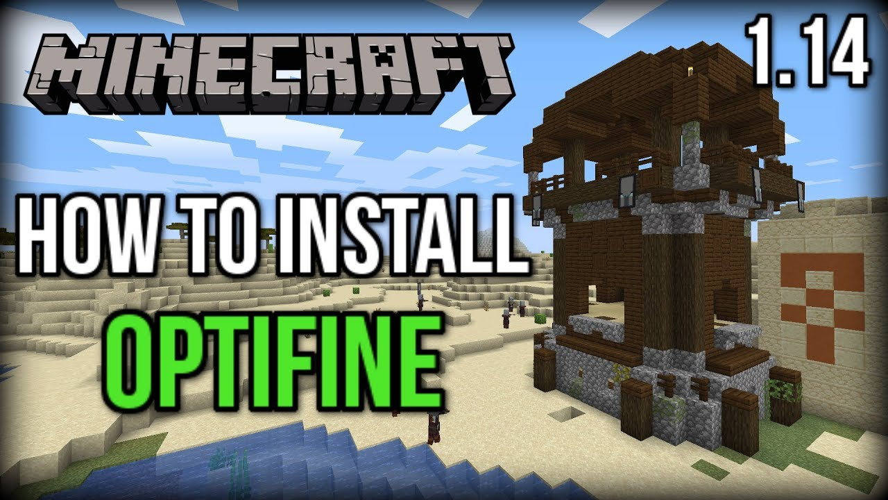 How to INSTALL Optifine in Minecraft 1 14+! (INCREASE FPS!)