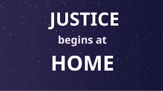 Justice Begins At Home (Harmony through Harmony) - lyric video