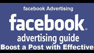 How To Boost Facebook Post|| By tech wep