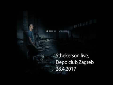 Sthekerson Live,Depo club,Zagreb  28 4 17