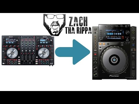 Going from a controller to CDJs