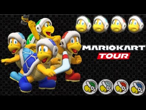 Mario Kart Tour Hammer Bro S Voice Lines Bros Included Youtube