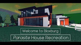 PARASITE House Recreation Tour - Roblox - Welcome to Bloxburg