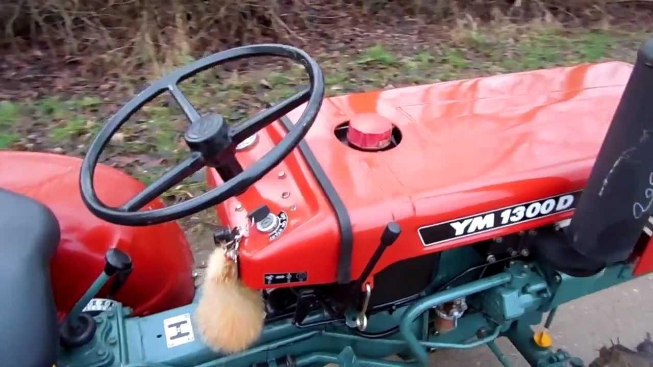 Yanmar 1300d Tractor Parts : Yanmar ym d youtube