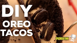 DIY OREO TACOS!! [epic recipe]