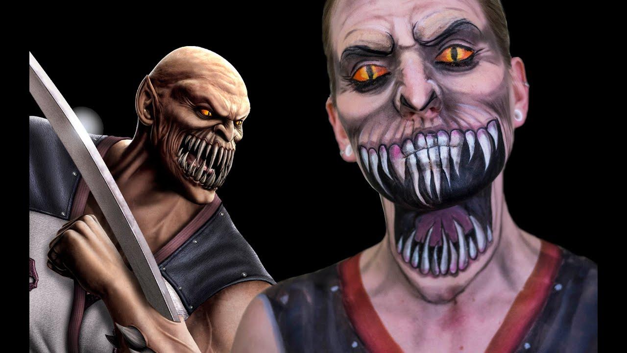 White Walker Face Paint